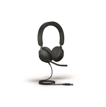Headset med mikrofon Jabra evolve2 40